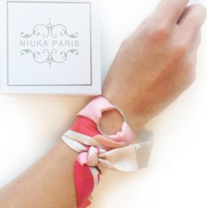 niuka paris silk cuff